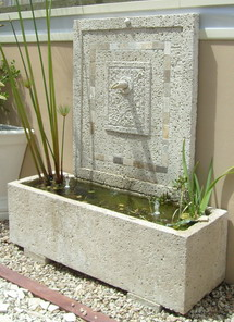 terrific water garden design with made to measure | Potanico . Architectural Pots, Planters and Gardenware ...
